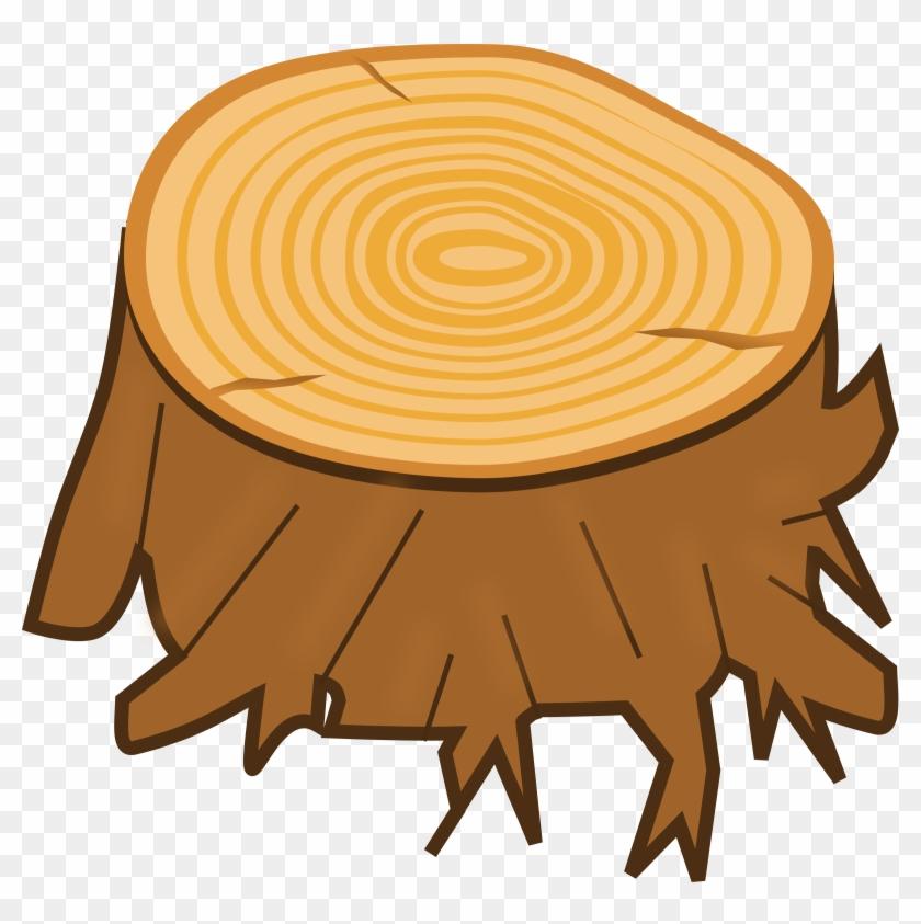 Tree Trunk Clip Art - Stump Clipart #766