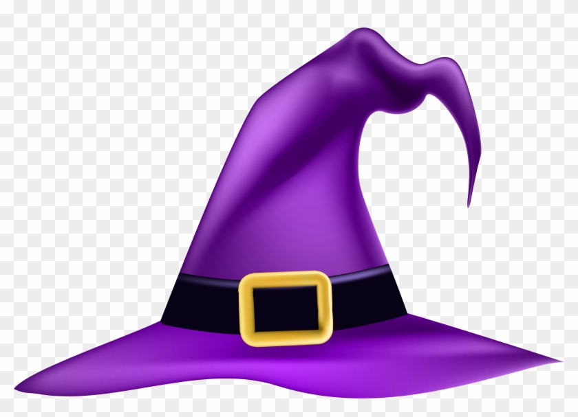 Purple Witch Hat Png #6921