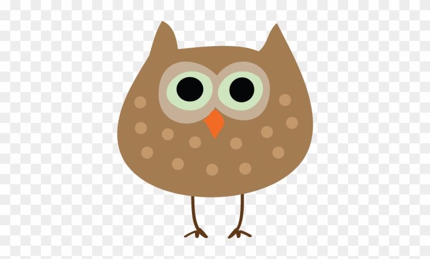 Autumn Owl Thanksgiving Clip Art - Fall Birds Clip Art #6925