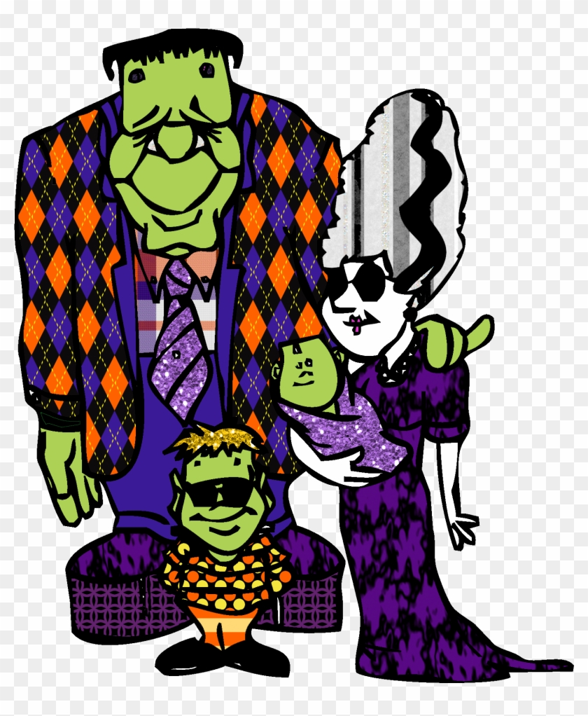 Halloween Family Clip Art #6931