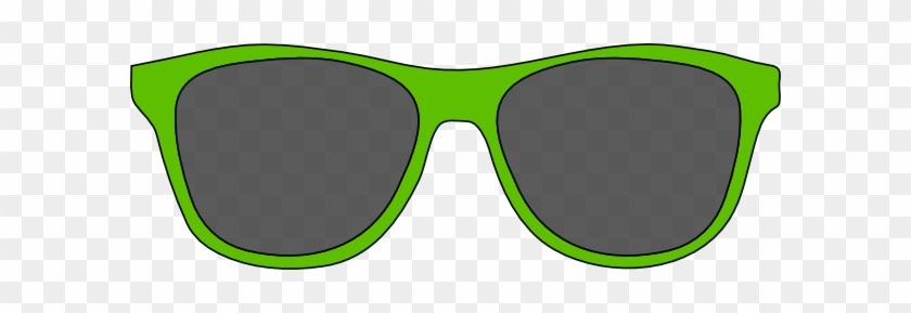 Download - Green Clip Art Sunglasses #6965