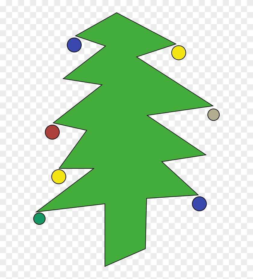Sweet Christmas Tree Clipart, Vector Clip Art Online, - Cari Gambar Pohon Natal Yang Besar 3d #727