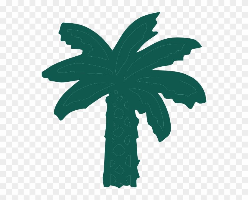 Palm Tree Svg Clip Arts 558 X 598 Px - Clip Art #751