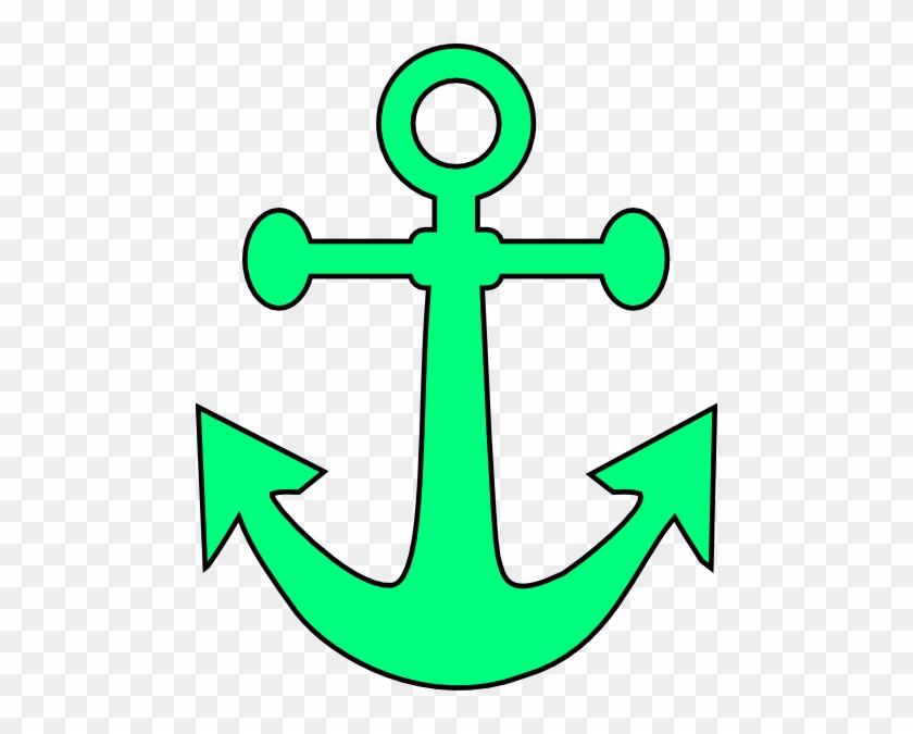 Anchor Clip Art Anchor Clip Art At Clker Vector Clip - Anchor Cliparts #7034
