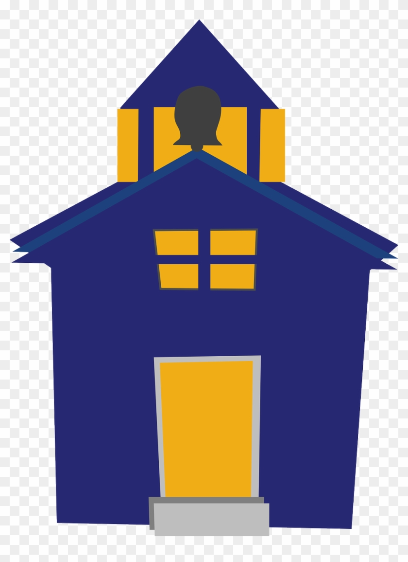 Building - Clip - Art - Capybara - Clipart - Church - Blue School Clip Art #755