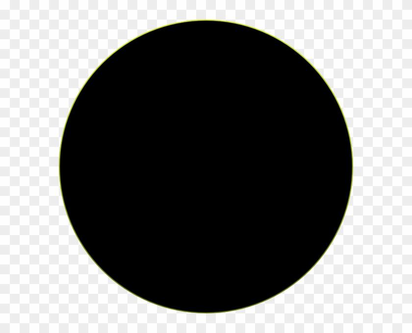 Circle Clipart Black Circle Clip Art At Clker Vector - Baryon Acoustic Oscillations Animation #7078