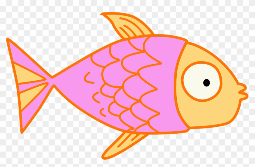 Fish Kids Clip Art Pink Cartoon Educational Cute Fish Cartoon Transparent Background Free Transparent Png Clipart Images Download