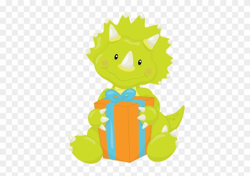 Dinosaur - Free Dinosaur Baby Shower Clipart #7114