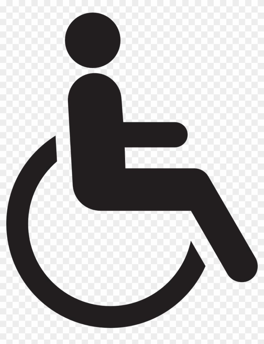Wheelchair Logo Clip Art Disabled Logo Clip Art At - Handicap Logo Png #7118