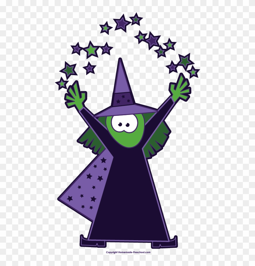 Magic - Clipart - Witch Magic Clipart #7125