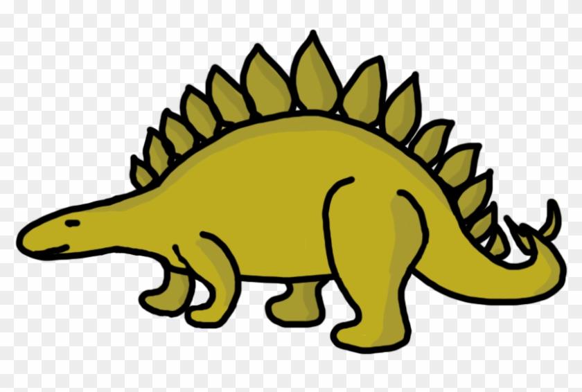 Dinosaur Clip Art Stegosaurus - Dinosaur Clipart #7141