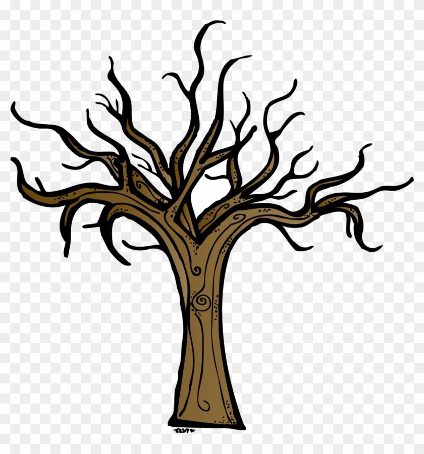 Brown Bare Tree Clip Art - Brown Bare Tree Clip Art #74