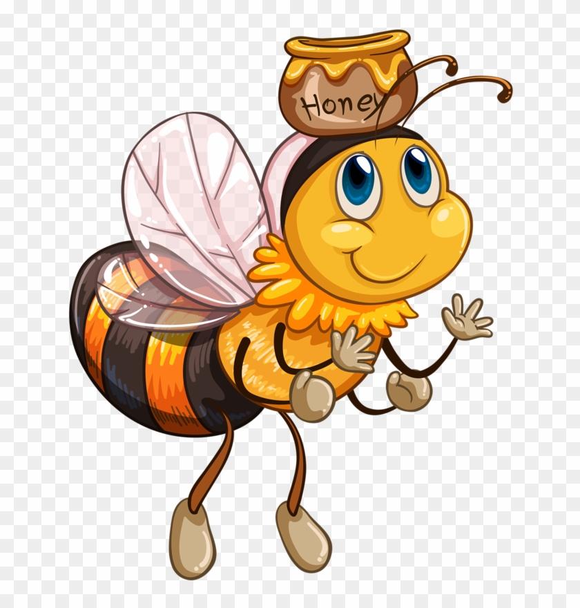 Bees - Girl Honey Bee Clip Art #7151