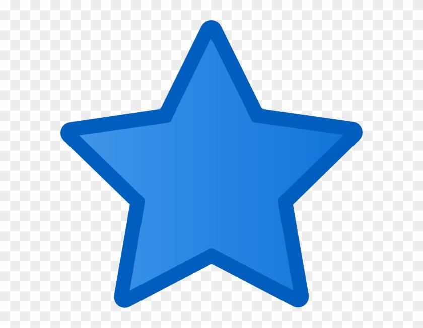 Blue Star Clipart Blue Star Clip Art At Clker Vector - Clip Art #7178