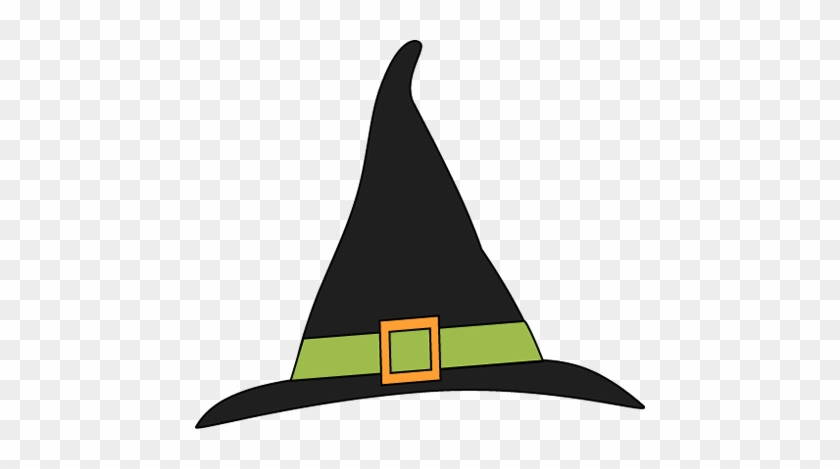 Green And Black Witches Hat - Clip Art Witch Hat #7184