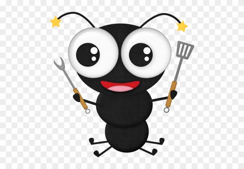 Black Ant 3 - Ant Picnic Clip Art #7225