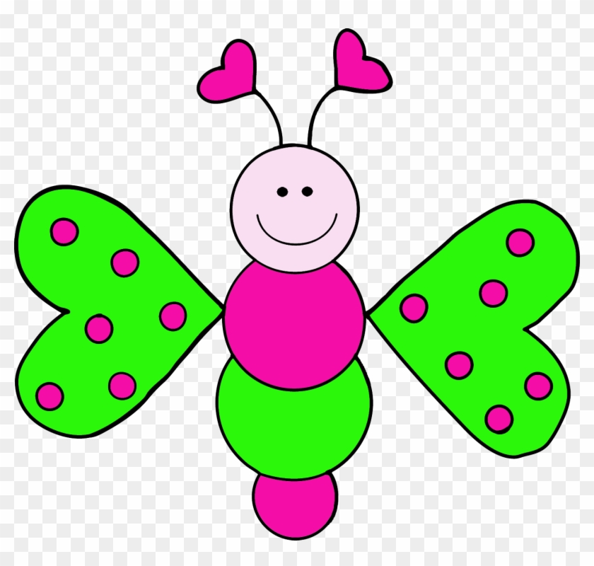 Granny Goes To School - Cute Insect Clipart #7252