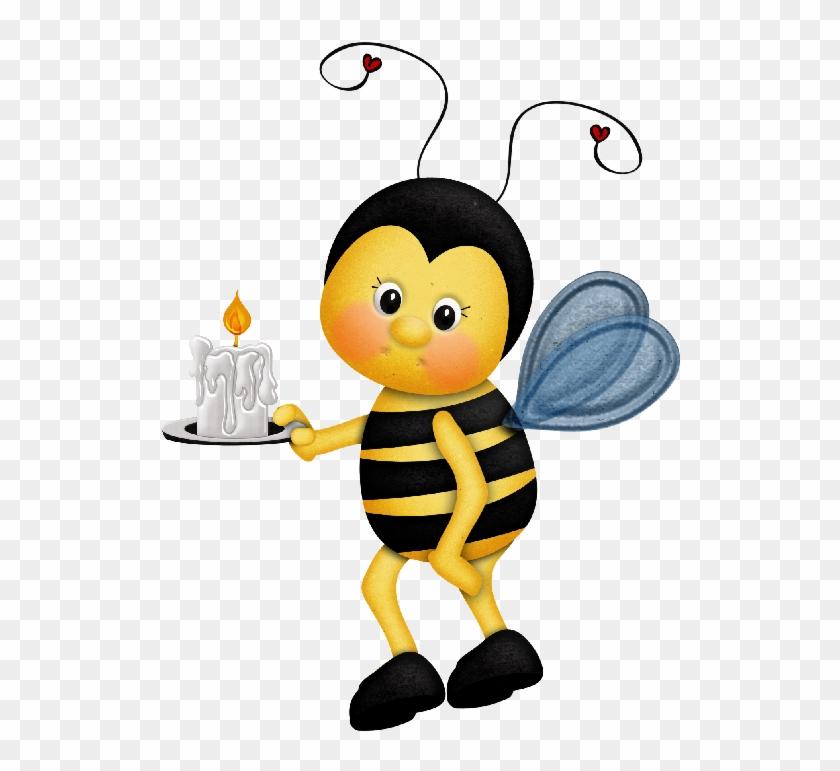 General Crafts, Bee Clipart, Pintura Country, Relief - Cartoon #7271