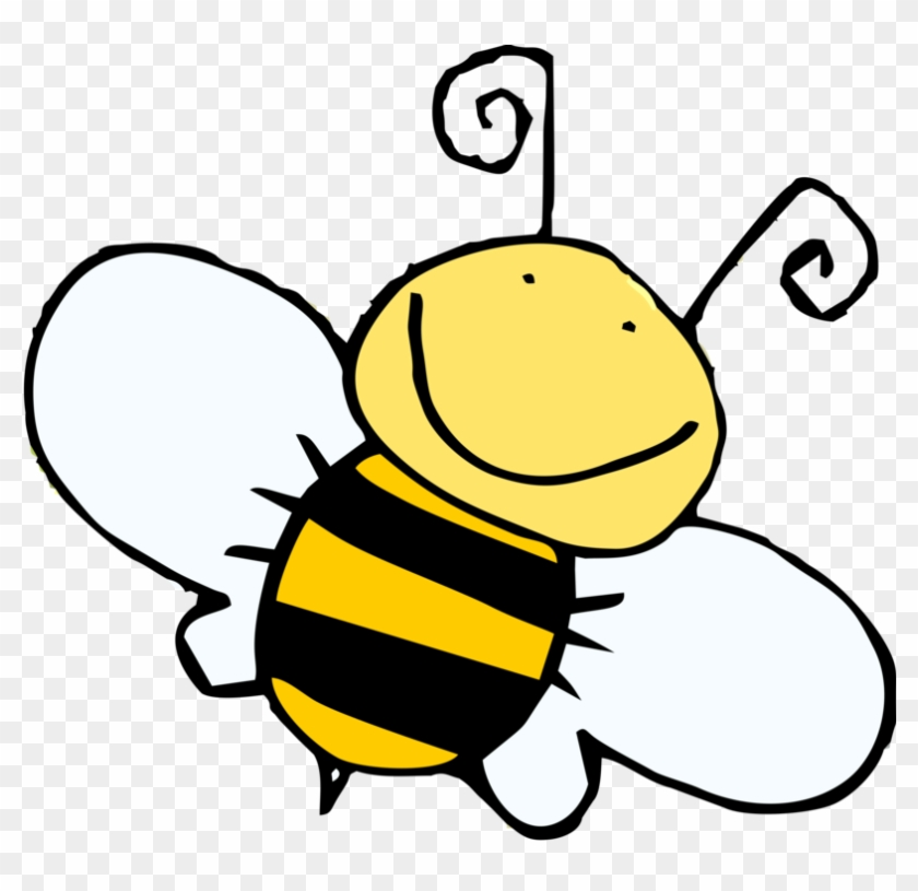 Honey Bee Drawing Clip Art - Boys And Girls Club #7275