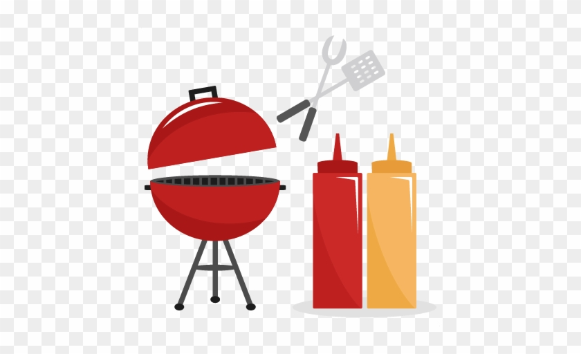 Bbq Grill Clipart Free Clipartfest - Red Grill Clip Art #7278