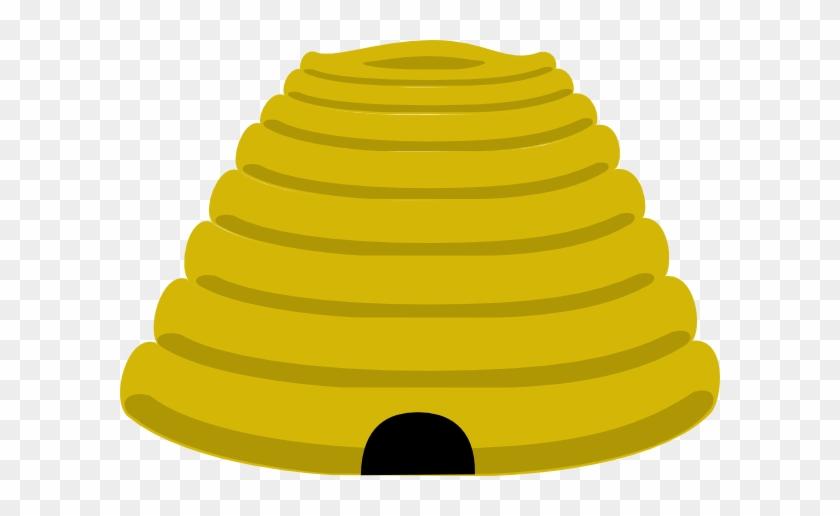 Beehive Clip Art At Clker - Bee Hive Clip Art #7313