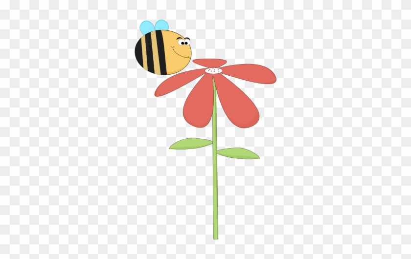Funny Bee Smelling A Flower - Birthday Wishes Granddaughter 5 #7316