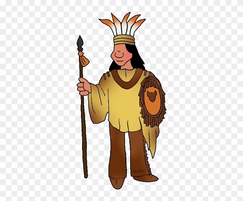 Southeast Woodland Creek Man - Creek Native Americans #7322
