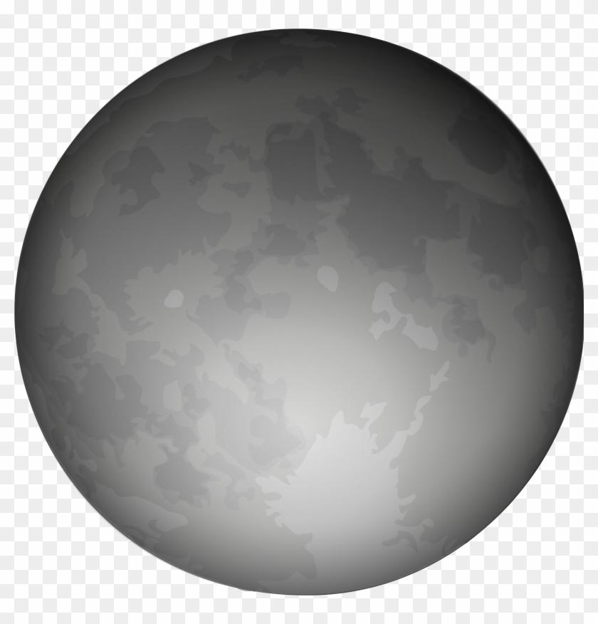 Moon Black And White Halloween Moon Clipart Arts - Moon Clip Art #7354