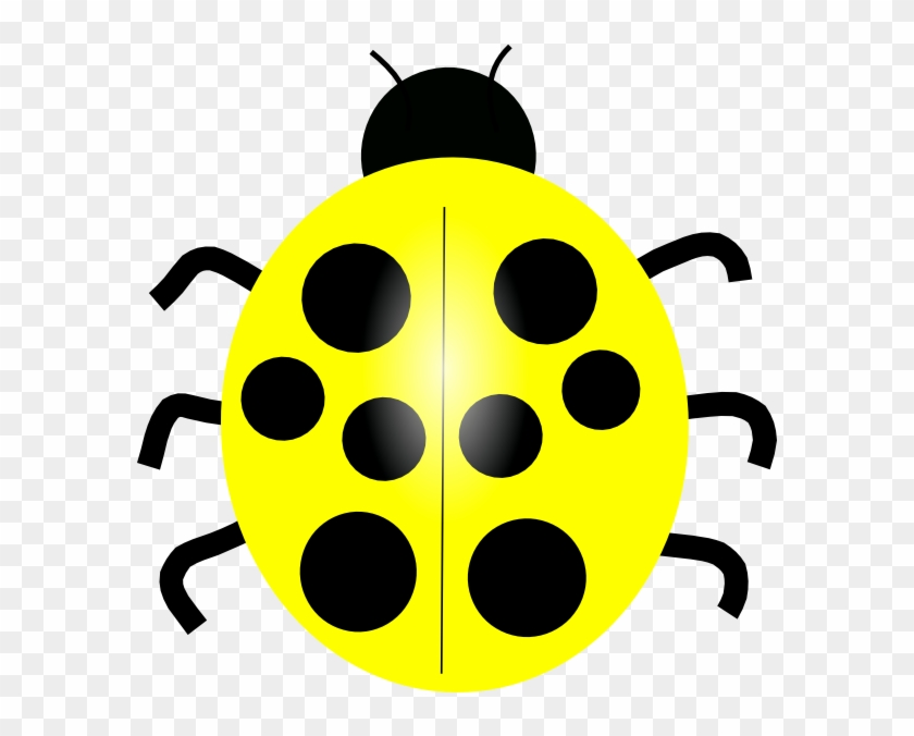 Yellow Ladybug Clip Art At Clker Vector Clip Art - Lady Bird Clipart #7372