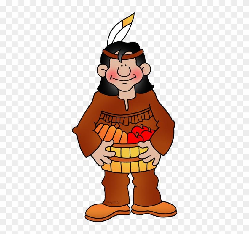 Native American - Phillip Martin Native American Clipart #7392