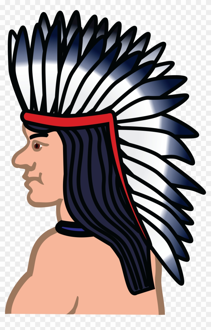 Free Clipart Of A Native American Indian - Png Native American Icon #7420