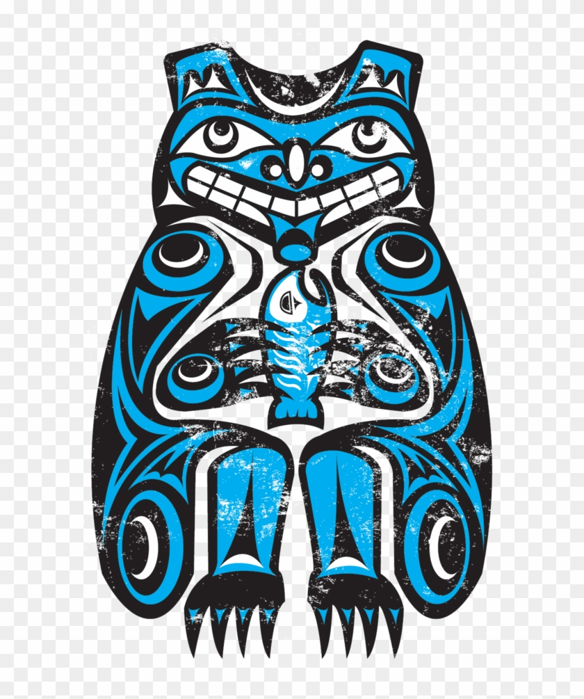 Northwest Nativeam Orca By Thescallywag On Clipart - Native American Bear #7431