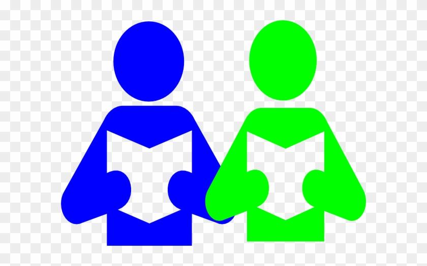 Partnership Math Partner Work Clipart Clip Art Library - Read To A Partner #7425