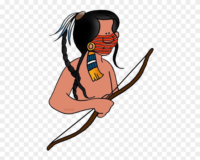 Sioux Man - Plain Indians Clipart #7444