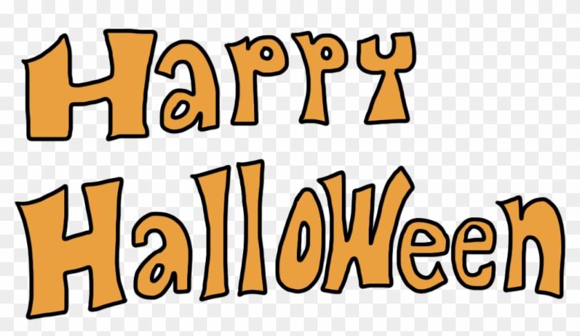Free Clip Art Of Happy Halloween Clipart - Halloween Clip Art Transparent #7472