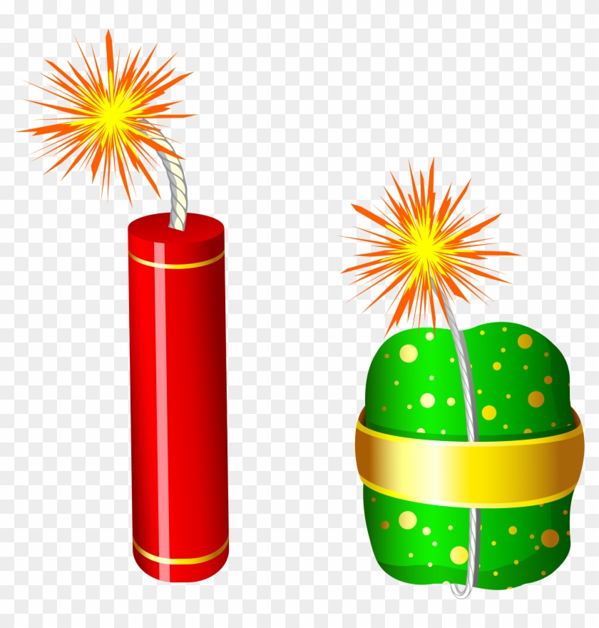 Cracker Clipart Transparent Png - Fire Crackers Images Png #7506