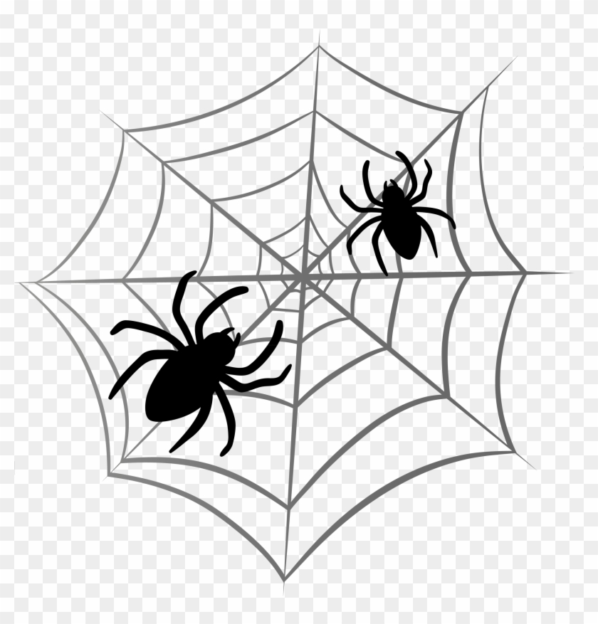 Spider Web Transparent - Halloween Clip Art Png #7492