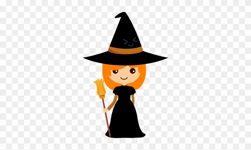 Halloween Witch Clip Art - Witch Clipart #7511