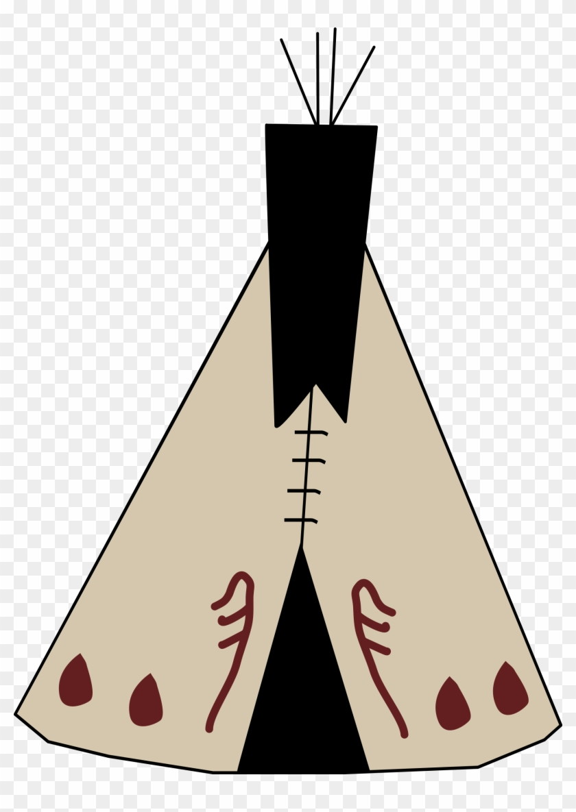 Free Native American Hunting Free Native American Penguin - Tipi Clipart Png #7521