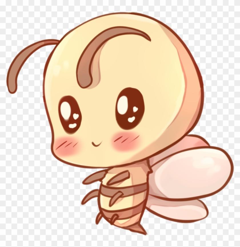 Drawn Bees Kawaii - Kawaii Bee #7541