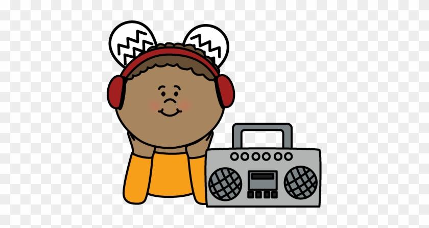Listening Center Clipart - Listening Center Clip Art #7544