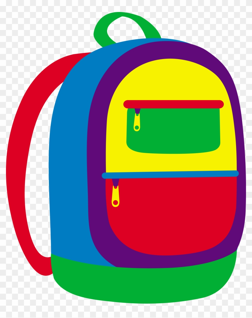 Kids Bag Clipart #7592