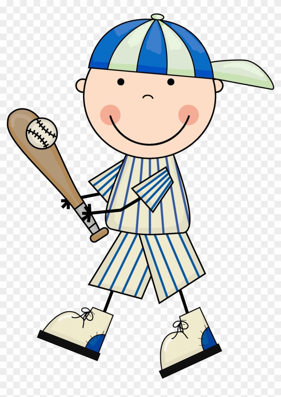 Baseball Pictures Clip Art - Baseball Kid Clipart #7602