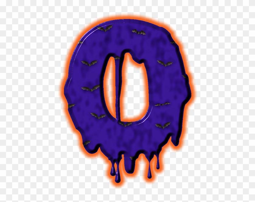 Alfabeto De Murcielagoso - Circle #7629