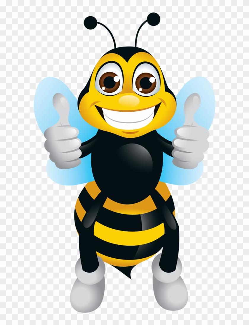 Bee Character Vector #7631