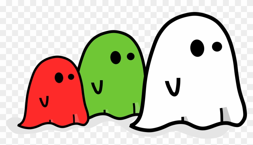 Ghosts - Cute Halloween Ghost Png #7664
