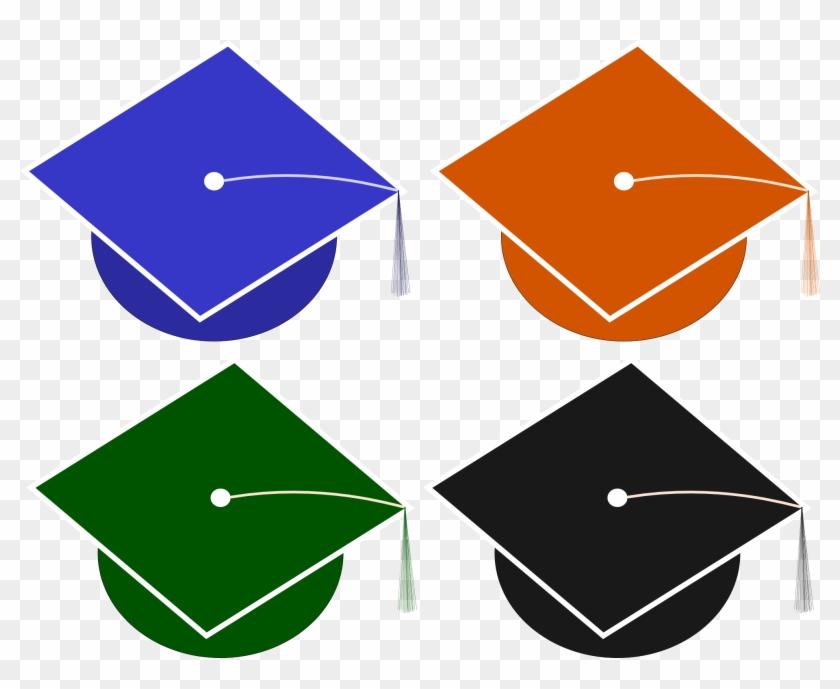 Graduation Caps Clip Art - Space Needle #7678