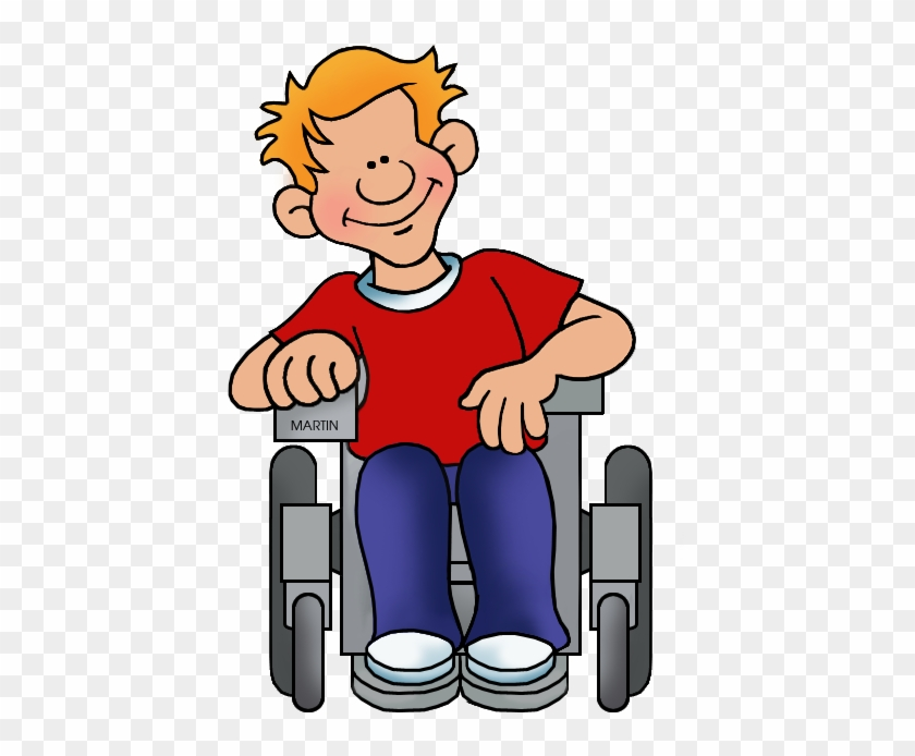 Student In Wheelchair - Student In Wheelchair Clipart #7683
