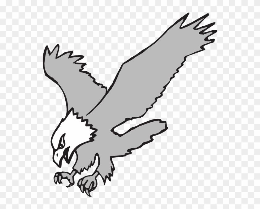 Native American Eagle Clipart - Eagle Clipart Black And White #7724