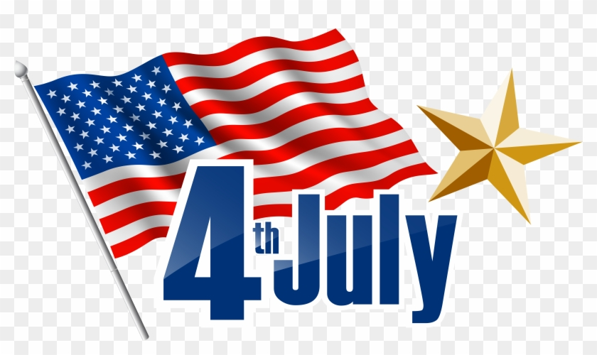 4th July Transparent Png Clip Art Image - 4th Of July Clip Art #7739